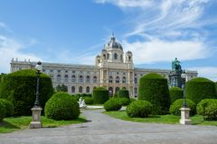 Museum of Natural History in Vienna, Austria Stock Image