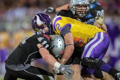 Austrian Bowl XXVIII - Vikings vs. Raiders Royalty Free Stock Images