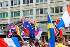 Vienna, Austria 15 JUN 2019 Pride parade LGBT royalty free stock photo