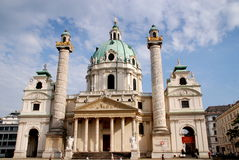 Vienna, Austria: Karlskirche Royalty Free Stock Photo