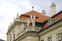 Vienna Austria Lower Belvedere summer residence Stock Photos