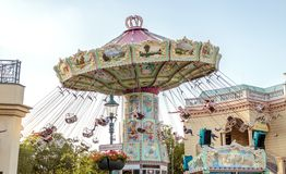 Amusement park in Vienna royalty free stock photo