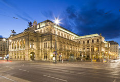 Vienna, Austria – May 31, 2016: Vienna State Opera Stock Photos