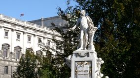 Free VIENNA, AUSTRIA-OCTOBER, 9, 2017: Close Up Of The Mozart Statue In Vienna, Austria Stock Images - 163781374