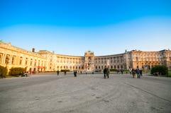 VIENNA, AUSTRIA - OCTOBER 19, 2015: Famous Hofburg Palace with H Royalty Free Stock Photos