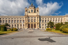 VIENNA, AUSTRIA - OCTOBER 07, 2016: Maria Theresien Platz It is named in honor of Empress Maria Theresa. National History Museum. Stock Photo