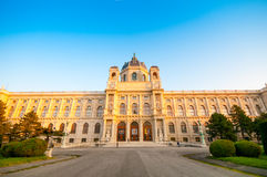 VIENNA, AUSTRIA - OCTOBER 12, 2015: Natural History Museum at Ho Royalty Free Stock Images