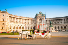 VIENNA, AUSTRIA - OCTOBER 19, 2015: Traditional old-fashioned fi Stock Images