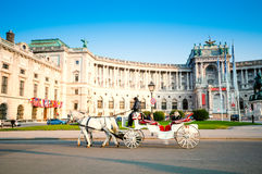 VIENNA, AUSTRIA - OCTOBER 19, 2015: Traditional old-fashioned fi Stock Photos