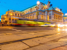 Vienna. austria. opera Royalty Free Stock Photo