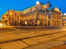Vienna. austria. opera Stock Image