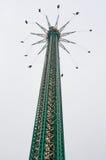 VIENNA, AUSTRIA - 15 OTTOBRE 2015: La torre di Prater (Praterturm Immagine Stock