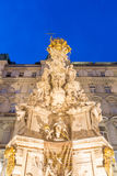 Vienna, Austria Plague Monument Stock Images