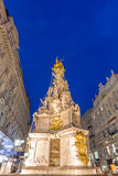 Vienna, Austria Plague Monument Royalty Free Stock Images