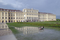 Vienna, Austria - Schoenbrunn Palace Stock Photo
