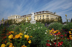 Vienna, Austria - 9-23-2016: The Schonbrunn Palace and gardens i Stock Image