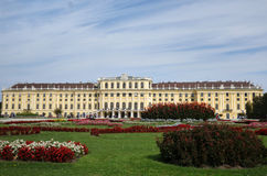 Vienna, Austria - 9-23-2016: The Schonbrunn Palace and gardens i Royalty Free Stock Photos