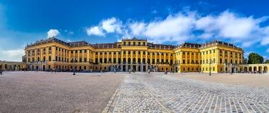 VIENNA, AUSTRIA - SEPTEMBER 8, 2017. Famous Schonbrunn Palace in Vienna, Austria. Famous Schonbrunn Palace in Vienna, Austria Royalty Free Stock Image