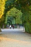 Vienna, Austria - 25 settembre 2013: Palazzo e giardini di Schonbrunn La precedente residenza imperiale di estate Il palazzo è un fotografia stock