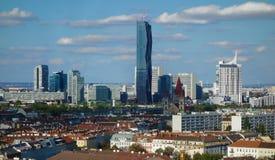 Vienna Austria skyline Stock Photos