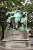 VIENNA, AUSTRIA - Statue of author Johann Wolfga Stock Photography
