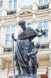 Vienna, Austria. Statue near Stephansplatz in Vienna, Austria stock photo