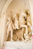 Vienna, Austria. Statue in  old center of   Vienna, Austria Royalty Free Stock Image