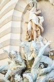 Vienna, Austria. Statue in  old center of   Vienna, Austria Stock Images