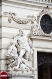 Vienna, Austria. Statue in  old center of   Vienna, Austria Stock Image