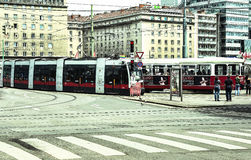Vienna - Austria. Vienna Austria Travelling Historic Builldings Tramway Royalty Free Stock Images
