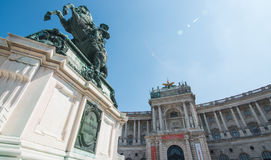Vienna. Austrian National Library in Vienna Stock Images