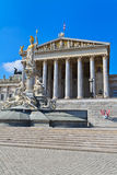 Vienna - Austrian Parliament Building Royalty Free Stock Photography