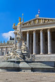 Vienna - Austrian Parliament Building Stock Image