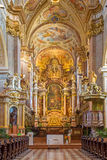 Vienna - Baroque altar of monastery church in Klosterneuburg Royalty Free Stock Photo