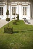 Vienna Belveder palace garden Stock Photos