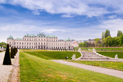 Vienna Belvedere Royalty Free Stock Image