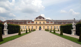 Vienna -  Belvedere, Lower Stock Images