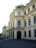 Vienna belvedere pałacu Zdjęcie Royalty Free