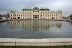 Vienna belvedere pałacu Zdjęcia Royalty Free