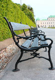 Vienna bench Royalty Free Stock Image