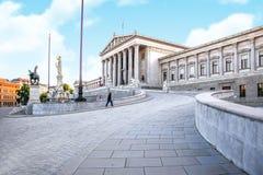 vienna budynki Londynu pogląd parlamentu trawnika zdjęcia stock
