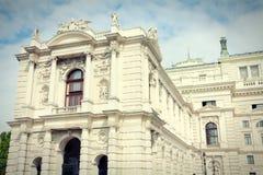 Vienna Burgtheater Royalty Free Stock Image