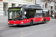 Vienna bus Stock Photo
