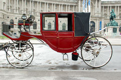 Vienna carriage. Wiener Carriage Royalty Free Stock Images