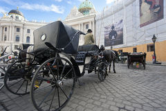 Vienna Carriage Tourist Ride Royalty Free Stock Photography