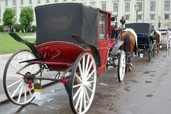 Vienna carriages Stock Image