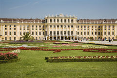 Vienna - castle schonbrunn Stock Photography
