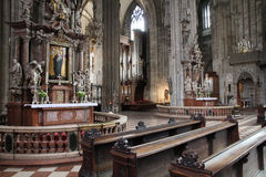 Vienna cathedral Royalty Free Stock Images
