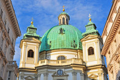 Vienna cathedral. Old church in Vienna, Austria Stock Images