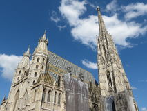 Vienna Cathedral stock photos